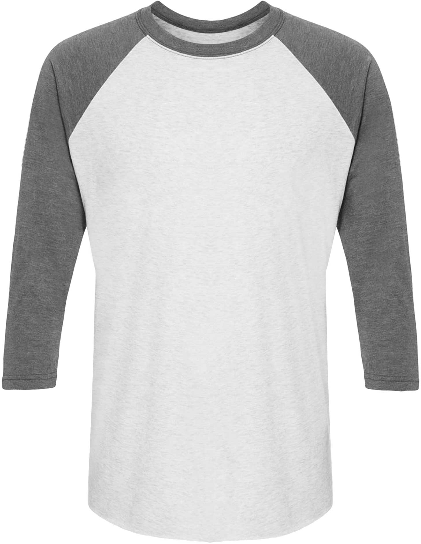 Placeit Raglan T Shirt Mockup Of A Black Guy Smiling Over To Someone