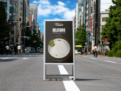 placeit bus stop ad mockup