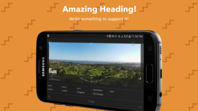 Horizontal Position Black Samsung Galaxy Android Screenshot Generator a16028