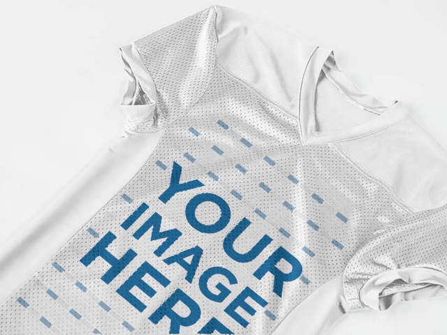 Custom Football Jerseys - Jersey Lying on a White Surface a16821