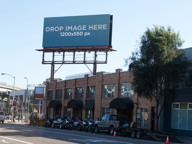 Billboard In The City
