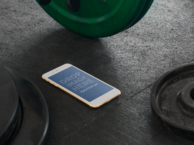 iPhone 6 In The Gym