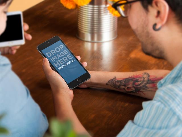 iPhone 6 Plus Informal Meeting