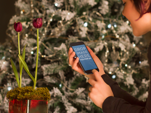 iPhone 6 And Christmas Tree