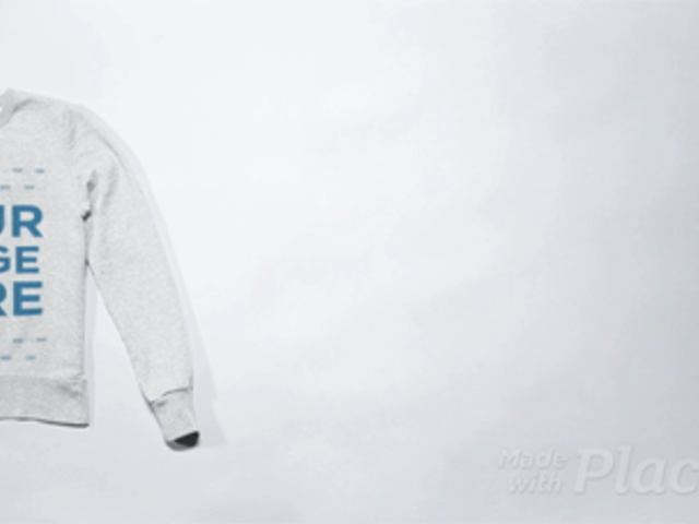 Stop Motion of a Sweatshirt Crossing from Side to Side a13273