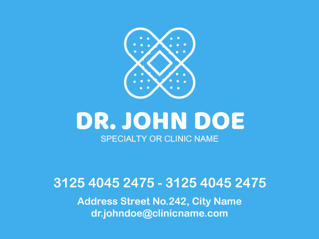 placeit doctor business card makerdoctor business card maker