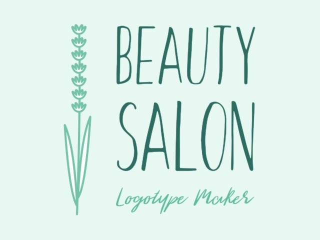 Placeit Beauty Salon Logo Maker With Floral Theme