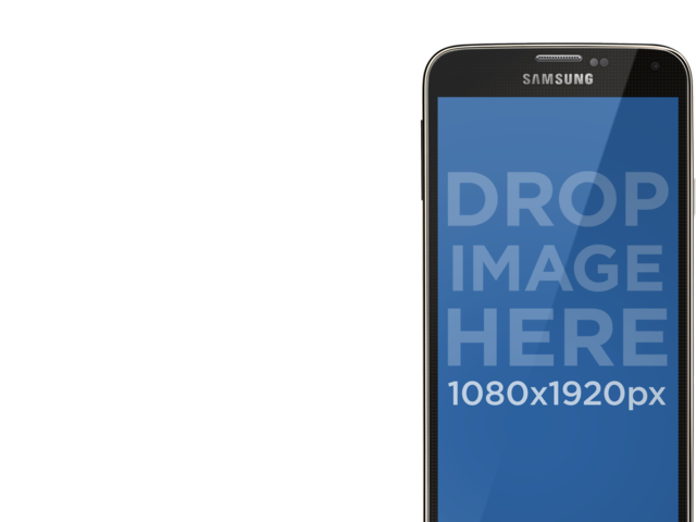 Placeit - Samsung Galaxy S5 Mockup PNG With Interchangeable Backgrounds
