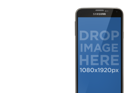 Android Mockup With Interchangeable Backgrounds