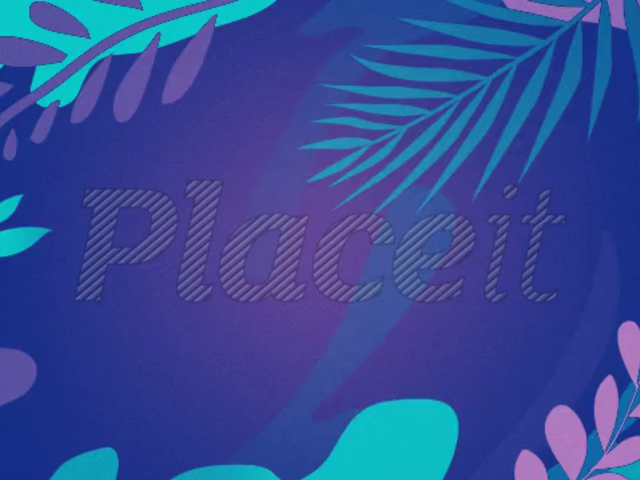 Text Animation Maker with Plant Background 224