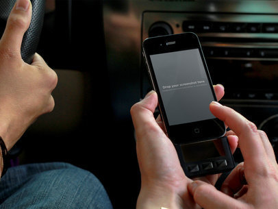 Listing Music iPhone 4 Car