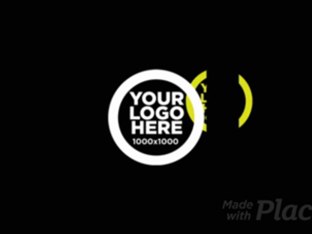 Logo Reveal with Futuristic Graphics 335