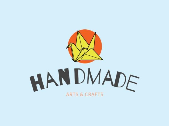 Placeit Handmade Crafts Logo Template