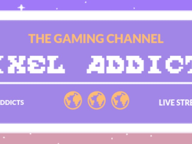Placeit - Pixel Graphics Twitch Banner Template