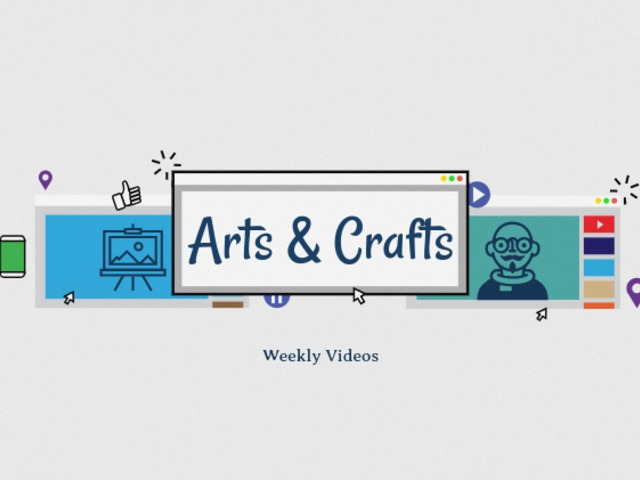 Placeit Youtube Banner Template For Craft Channels