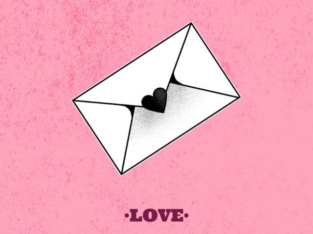 love letter design templates