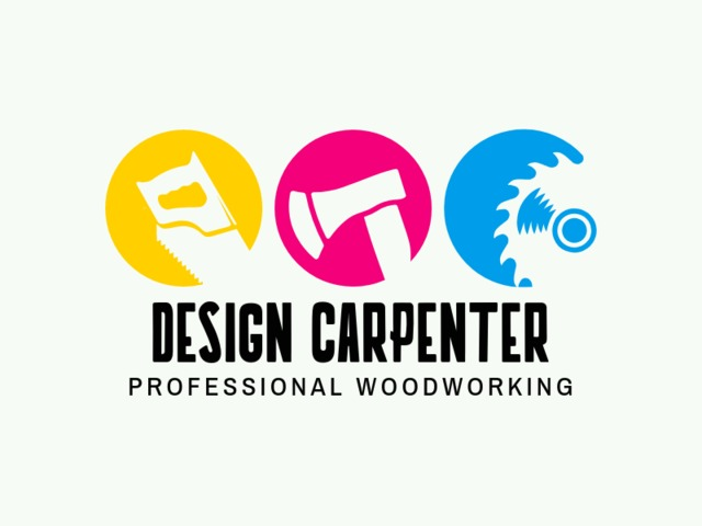 Placeit Design Carpenter Logo Template