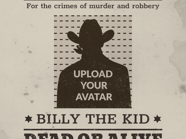 Placeit - Wanted Poster Generator