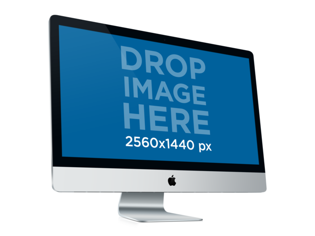 Instant screenshots for your Apps! iMac Placeit Stage Image