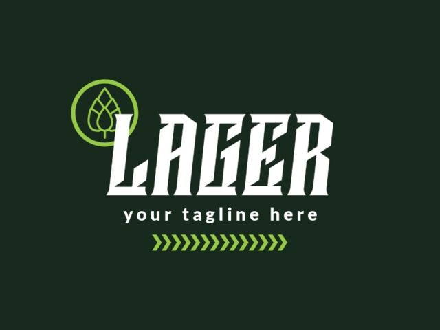 Placeit Craft Beer Logo Maker For A Lager Beer Brand