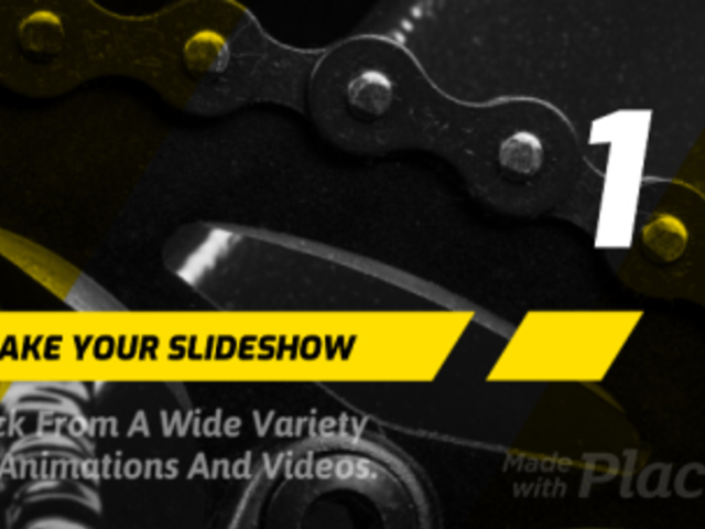 List Slideshow Video Maker with Bold Style Animations 444