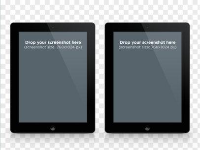 iPad Black Portrait Comparisson
