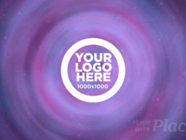 Intro Maker for a Logo Reveal with Concentric Animations 1508
