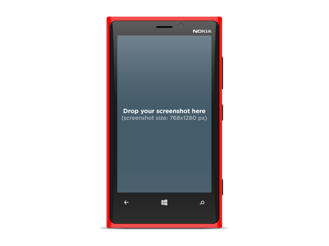 Nokia Lumia 1920 Red
