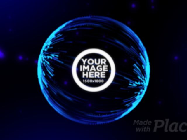 Intro Maker of a Logo Reveal with a Particles Sphere Video Animation 1636