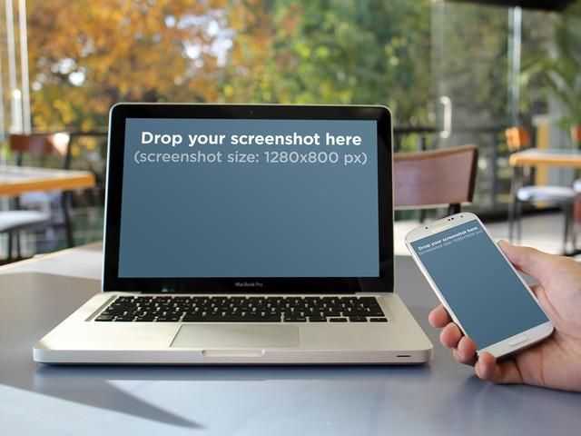 MacBook Vs Samsung Tables Room