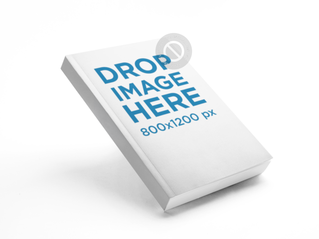 Ebook Mockup Over a Flat Background a9930