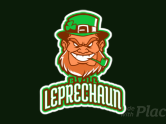 Animated Sports Logo Maker Featuring an Evil Leprechaun 523l-2860