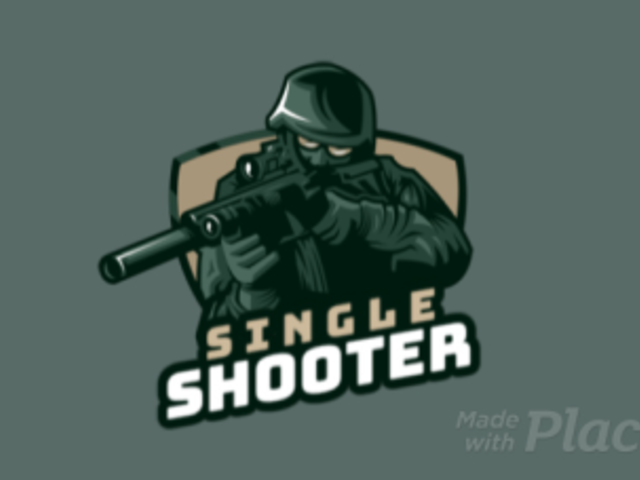 Animated Gaming Logo Generator with an Illustrated Special Forces Soldier 1847n-2860