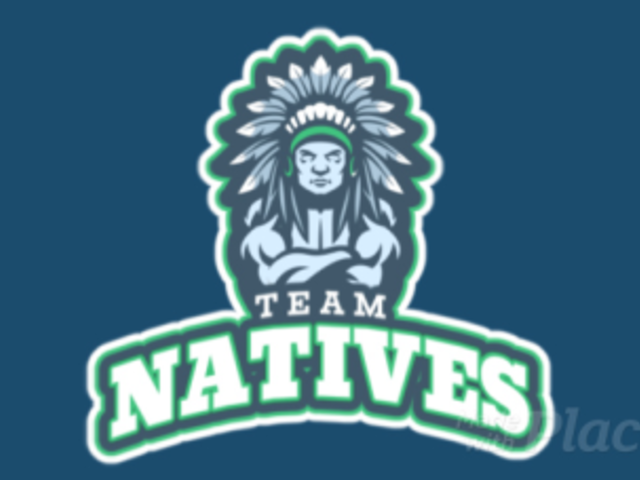 Animated Sports Logo Generator Featuring a Tribal Chief Clipart 29p-2858