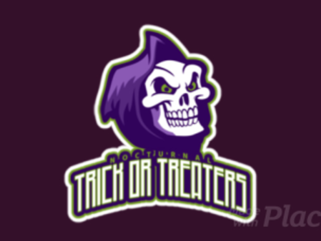 Animated Gaming Logo Template Featuring a Cartoonish Skull Graphic 2620m-2856