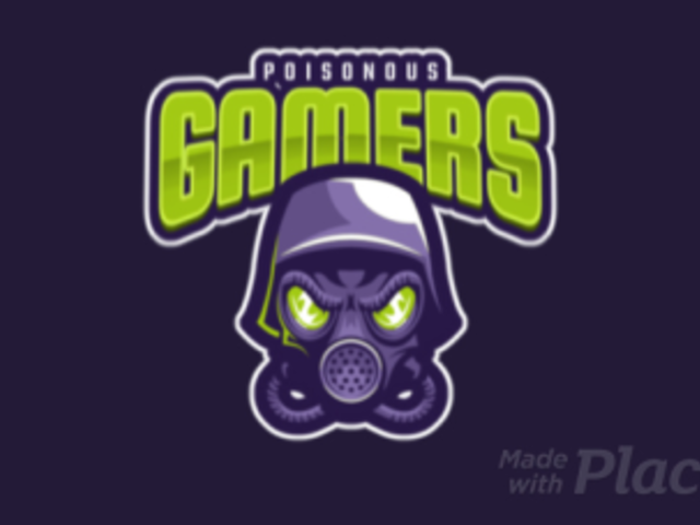 Animated Logo Maker for Gamers Featuring a Toxic Mask 1869i-2287