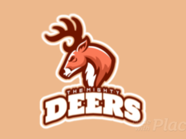 Animated Sports Logo Template with a Mad Deer Graphic 21x-2859