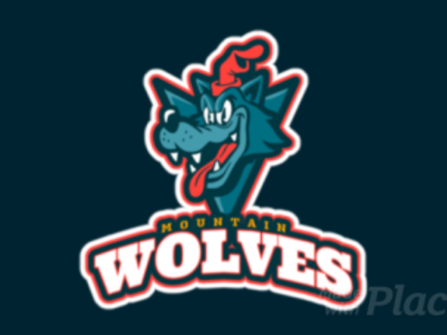 Animated Sports Logo Maker with a Cartoonish Wolf Mascot 1651f-2331