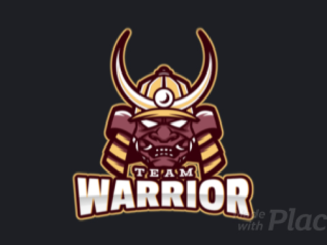 Animated Gaming Logo Template Featuring an Ancient Warrior's Face 1750aa-2880