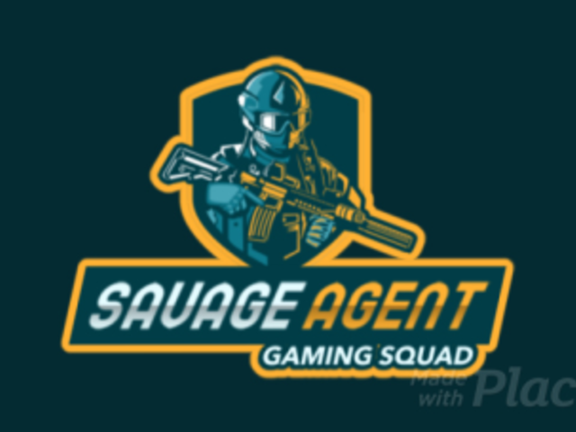 Gaming Squad Animated Logo Maker with Heavy Armored Soldier Character 2754v-2890