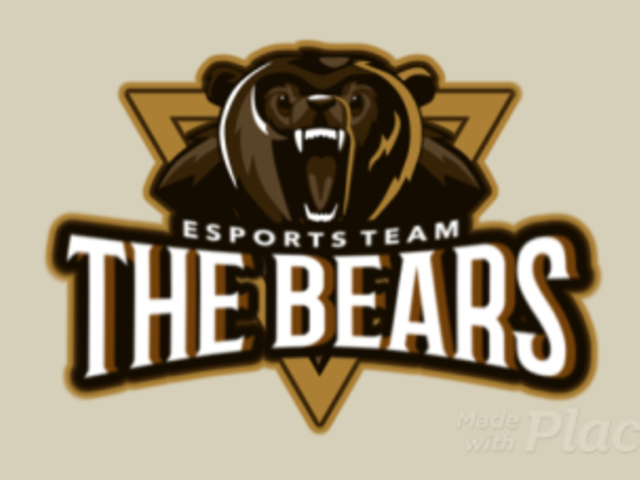 Animated Esports Logo Maker Featuring a Wild Bear Graphic 1748j-2882