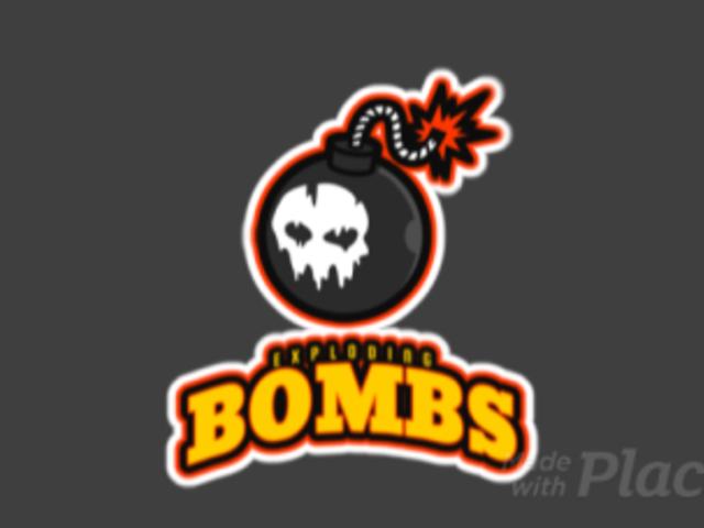 Animated Logo Generator with a Bomb Clipart 523r-2887