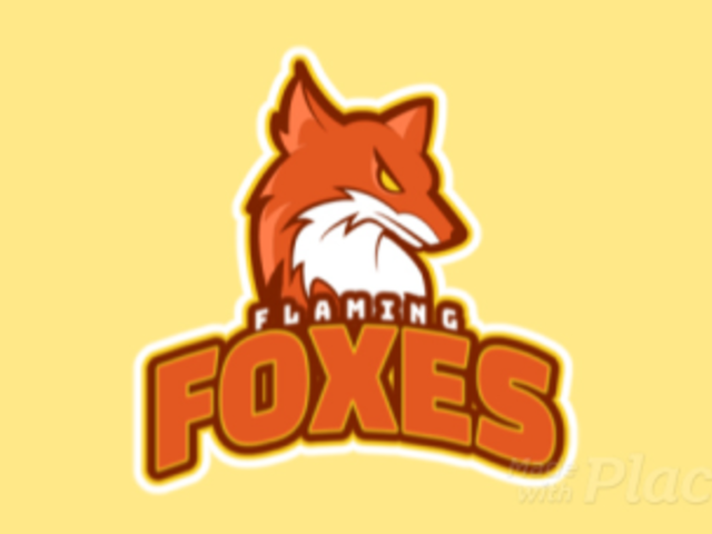 Sports Logo Template with an Animated Aggressive Fox 21cc-2887