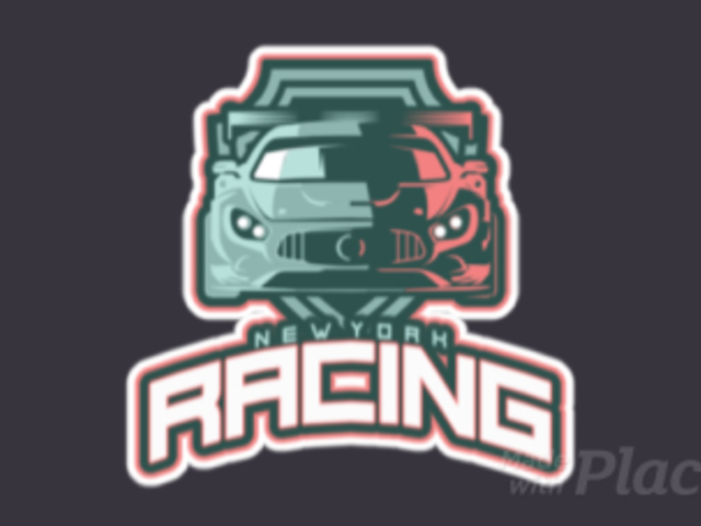 Animated Gaming Logo Maker Featuring a Racing Car Illustration 523v-2891