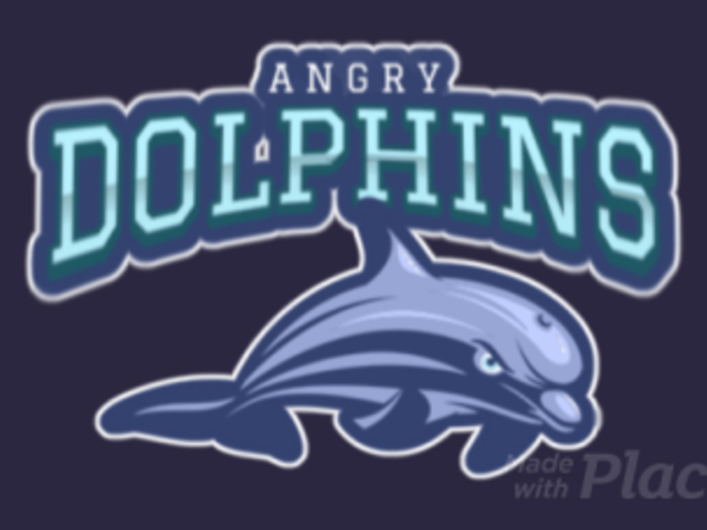 Sports Logo Maker Featuring an Animated Dolphin Graphic 120z-2892