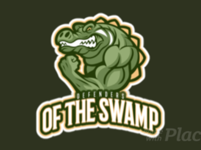Sports Logo Template Featuring an Animated Muscled Reptile Character 21ii-2892
