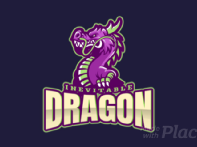 Animated Logo Generator for Gaming Teams Featuring a Fantasy Dragon Clipart 2689m-2883
