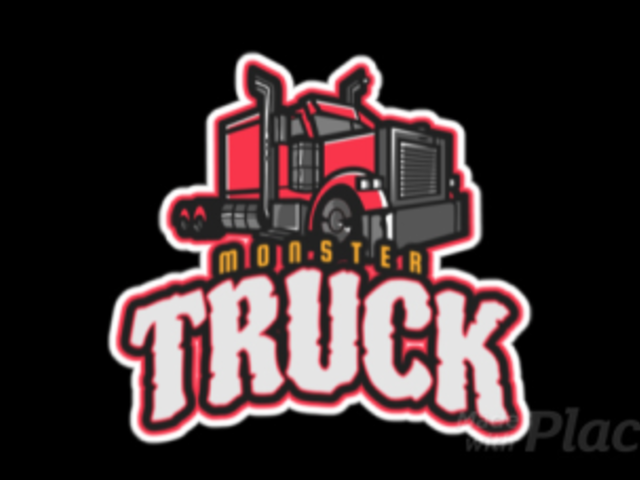 Animated Gaming Logo Template Featuring a Truck Clipart 523cc-2883