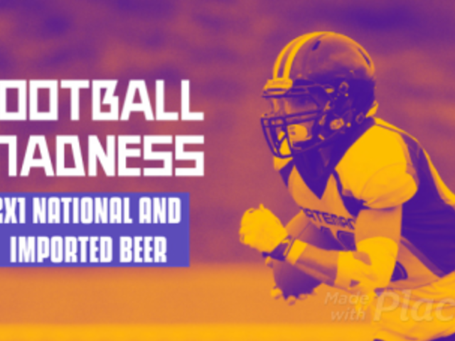 Facebook Cover Video Maker for a Bar's Football Event Promo 2016