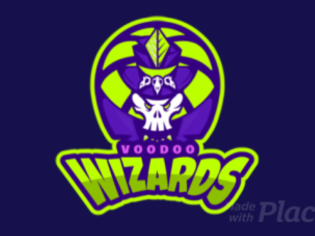 Animated Sports Logo Maker With a Voodoo-Themed Illustration 336t-2933